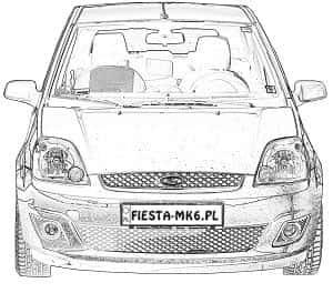Ford Bezpieczniki Forda Fiesta Mk6 Przekaźniki Fiesty Mk6